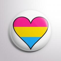 Corazón Orgullo Pansexual