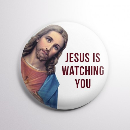 Chapa Jesus is watching you