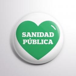 Chapa Sanidad pública